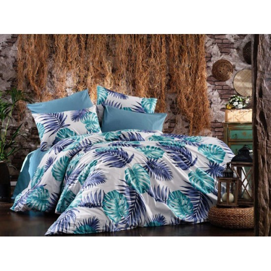Lenjerie de pat Tropical Blue